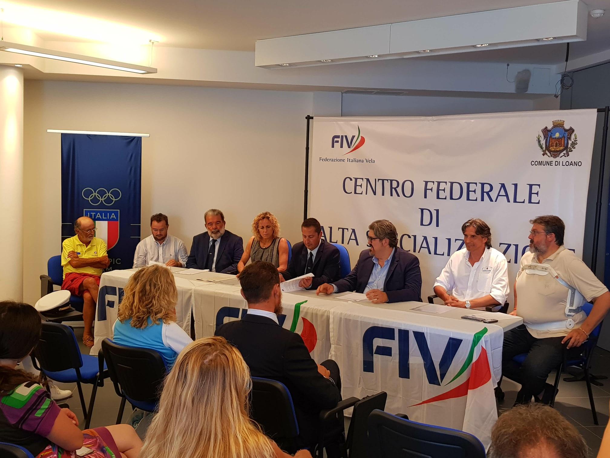 Inaugurato a Loano il Centro Federale di Alta Specializzazione per la Vela